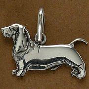 Pingente de Cachorro Basset Hound - 95460