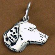 Pingente de Cabeça de Cachorro Dálmata - 95452