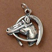 Pingente de Cavalo e Ferradura - 95113