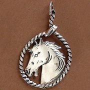 Pingente de Cavalo Laço - 95187
