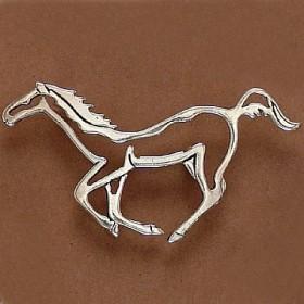 Pingente de Cavalo Silhueta - 9597