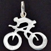Pingente de Ciclista Velocista Bicicleta - 95889