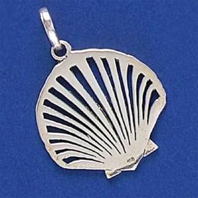 Pingente de Concha do Mar em Prata 950 - 33241