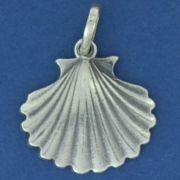 Pingente de Concha do Mar em prata 950 - 9763