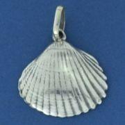 Pingente de Concha do Mar em Prata 950 - 9764