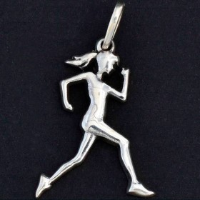 Pingente de Corredora Maratonista Corrida Mulher - 95876