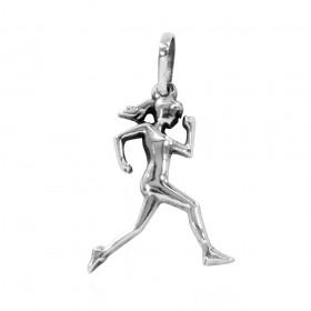 Pingente de Corredora Mulher Maratonista Corrida Atletismo - 95876