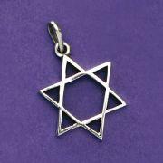 Pingente de Estrela de Davi - 95387