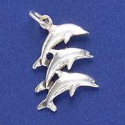 Pingente de Golfinhos - 9502