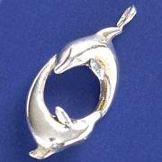 Pingente de Golfinhos - 95117