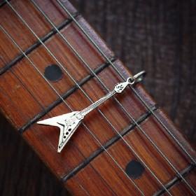 Pingente de Guitarra Flying V - 95428