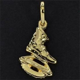 Pingente de Kangoo Jump banhado em Ouro - 7665