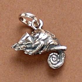 Pingente de Lagarto Camaleão Réptil - 95108