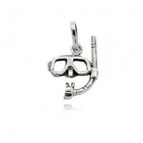 Pingente de Máscara e Snorkel - 95281