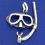 Pingente de Máscara Snorkel - 9566
