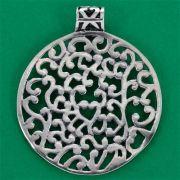 Pingente de Medalha Ramos - 95643