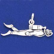 Pingente de Mergulhador - 33187