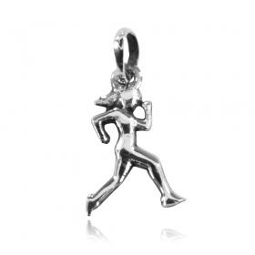 Pingente de Mulher Maratonista Corrida Atletismo Mini - 95949