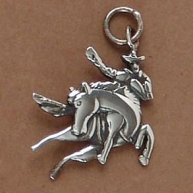 Pingente de Cavalo Peão Rodeio - 95185