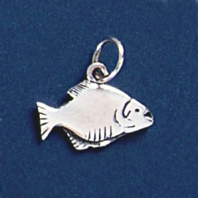 Pingente de Peixe Piranha - 95254