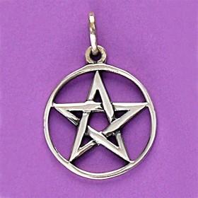 Pingente de Pentagrama ou Estrela de Salomão - 33130