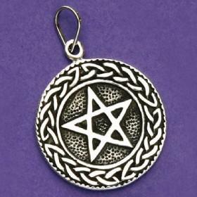 Pingente de Pentagrama ou Estrela de Salomão - 33172