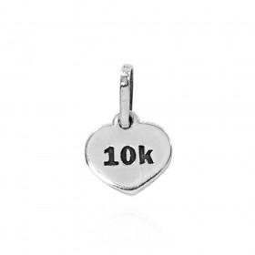 Pingente de Placa de Distância 10Km - Atletismo Corrida - 96164