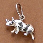 Pingente de Rinoceronte - 9590