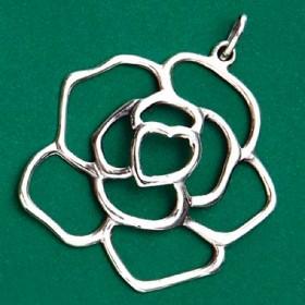 Pingente de Rosa - 95633