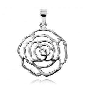 Pingente de Rosa - 95634
