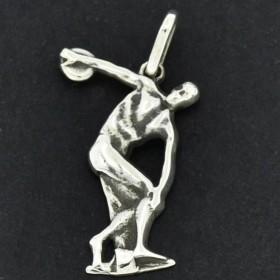 Pingente de Símbolo da Educação Física Discóbolo de Myrón - 9709