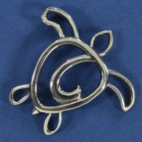 Pingente de Tartaruga Silhueta - 95714