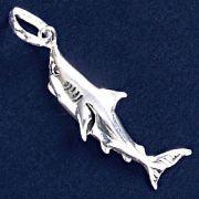 Pingente de Tubarão Branco - 95102