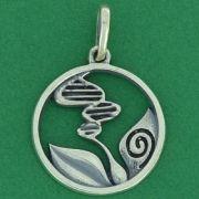 Pingente do Simbolo da Biologia - 9744