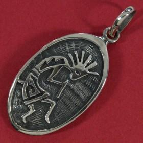 Pingente Índio Moicano -3335