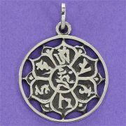 Pingente Mandala Auspiciosa Tibetana - 95354
