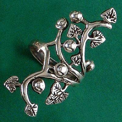 Anel da Árvore da Vida Flor - 4586  - Arte Ativa