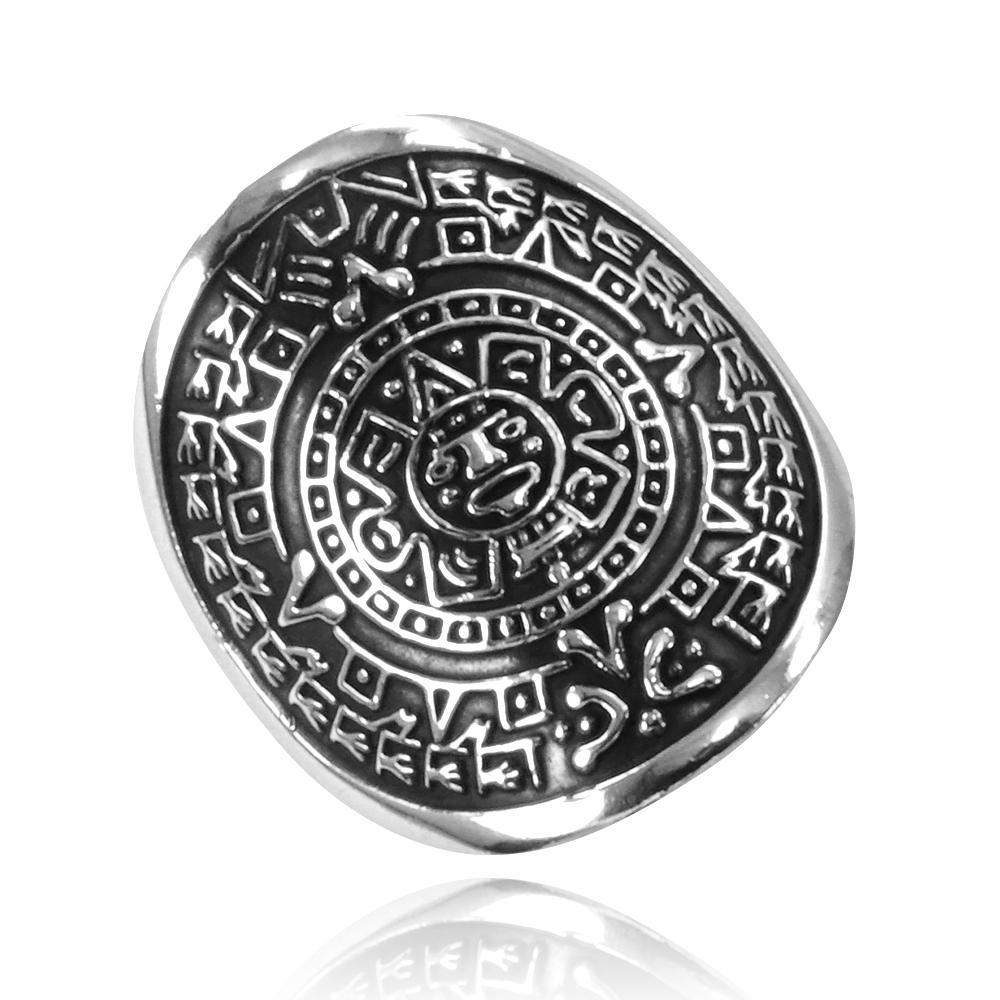 Anel de Calendário Asteca - 15183