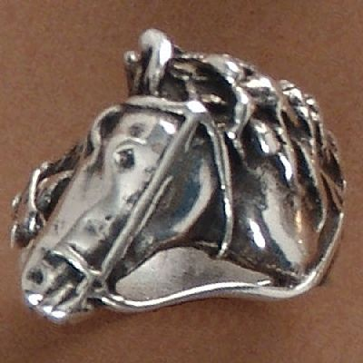 Anel de Cavalo - 15242  - Magia das Joias