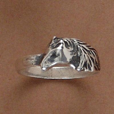 Anel de Cavalo Pônei - 93152  - Arte Ativa