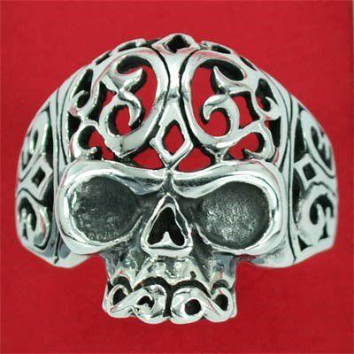 Anel de Caveira Mexicana - 15867  - Arte Ativa