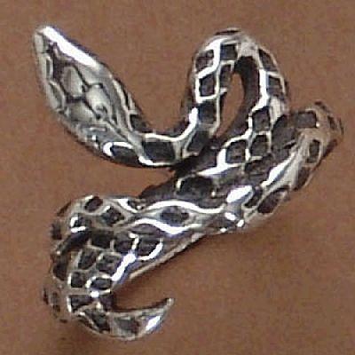 Anel de Cobra - 93139  - Magia das Joias