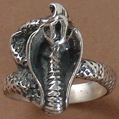 Anel de Cobra Naja - 1512  - Magia das Joias