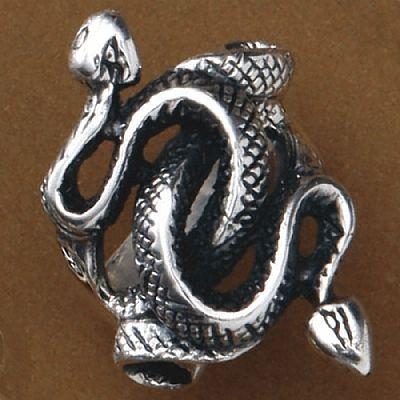 Anel de Cobras - 15502  - Magia das Joias