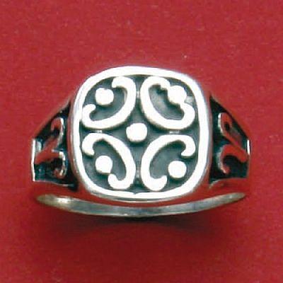 Anel de Desenho Geométrico - 15149  - Magia das Joias