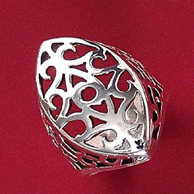 Anel de Desenho Geométrico - 15604  - Magia das Joias