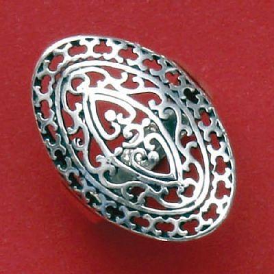 Anel de Desenho Geométrico - 15751  - Magia das Joias