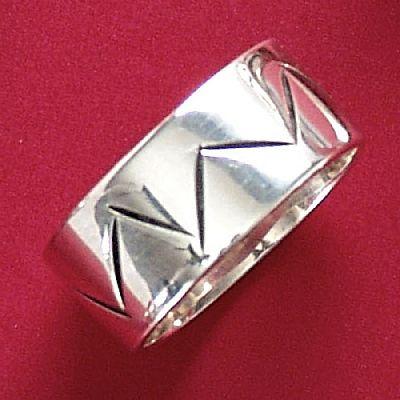 Anel de Desenho Geométrico - 93321  - Magia das Joias