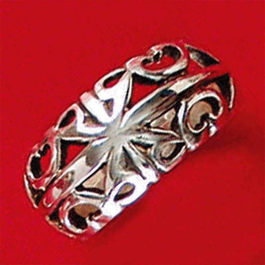 Anel de Desenho Geométrico - 93389  - Magia das Joias