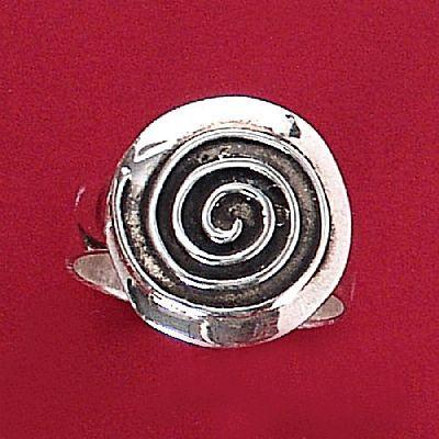 Anel de Desenho Geométrico Hipnótico - 15174  - Magia das Joias